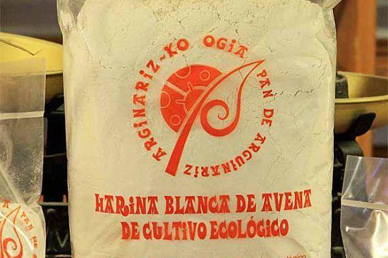 Harina blanca de avena