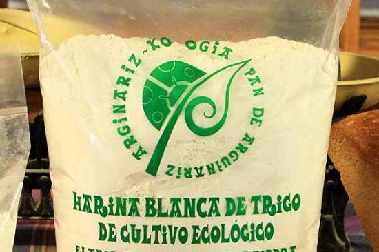 Harina blanca ecológica de triigo