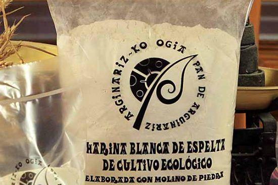 Harina blanca de espelta